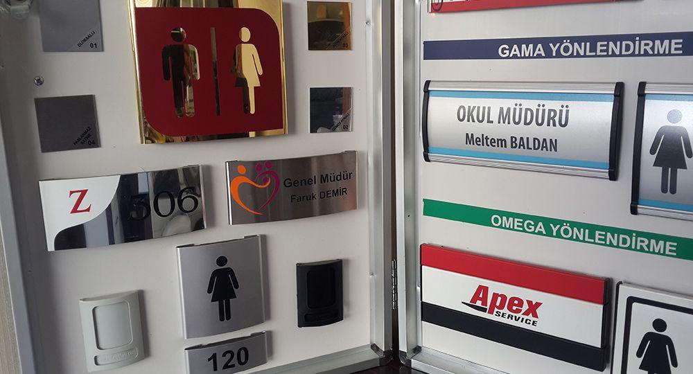 Kapı isimliği,ankara,imalatı,kapı,isimlikleri