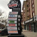 Ankara Totem,Ankara Tabela,Tabela